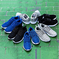 Black British Men Breathable Casual Sports Running Shoes Athletic Sneakers
