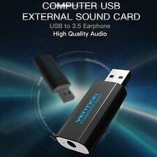 External Virtual USB 3D 2.1 Channel Stereo Sound Card Audio Adaptor Converter RK