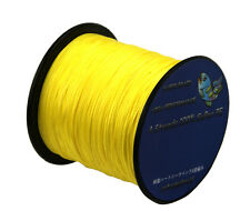 yellow 1000m Super Strong Dyneema Spectra Extreme PE Braided Sea Fishing Lines