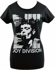 LADIES T-SHIRT JOY DIVISION SHES LOST CONTROL IAN CURTIS PUNK ROCK GOTH S-2XL