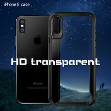 For iPhone X 10 Case Shockproof Clear Hybrid Hard Back Soft TPU Bumper Cover NEW