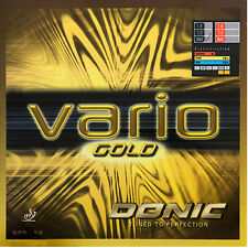 Donic Vario Gold Table Tennis Rubber Ping Pong MAX Red/Black
