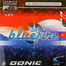 Donic Bluefire KR Table Tennis Rubber Ping Pong 2.0mm/MAX Red/Black