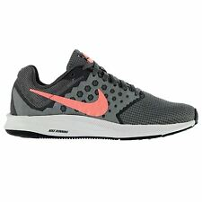 Nike Downshifter 7 Trainers Womens Grey/Pink Sneakers Sports Shoes Footwear