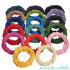 14Color Lots 5m Round Rope Cord Bead Necklace Bracelet Jewelry Making Crafts DIY