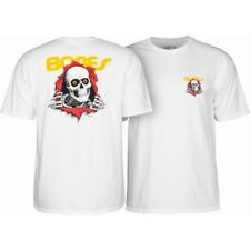 Powell Peralta Ripper White Youth Skateboard T Shirt