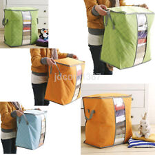 Hot Home Underbed Large Bamboo Clothing quilt beding Portable Pouch Storage Bag