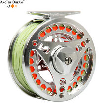 3/4 5/6 7/8 9/10WT Fly Reel Combo CNC Machined Fly Fishing Reel with Fly Line