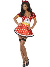 SALE! Sexy Adult Fever Miss Mouse Ladies Fancy Dress Hen Party Costume Outfit