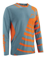 Thor Steel Grey/Orange Core Orbit Dirt Bike Mens Jersey MX ATV Gear 2015