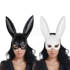 Rabbit Fancy Dress Costume Party Bunny Long Ears Masquerade Halloween Eye Mask