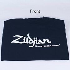 Zildjian Black T-Shirt with White Logo -NEW