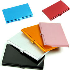 5 Colors Pocket Business ID Credit Card Wallet Holder Case Aluminum For Choice