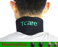 Tourmaline Neck Belt Heating Therapy Magnetic Support Self Heat Brace Wrap Pain