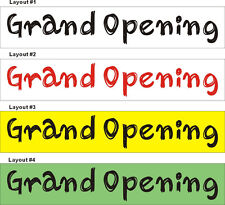2ftX10ft Custom Printed Grand Opening Banner Sign (Alice Graphics 201203301924)