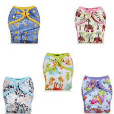 New Adjustable Washable Waterproof Baby Diaper Cloth Pocket Reusable Nappy Cover