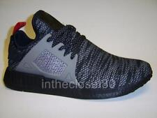 Adidas NMD XR1 Black Grey Red Mens Woven Mesh Trainers S76851 UK 6 7 8 9 10 11