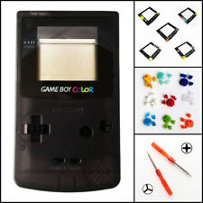 Nintendo Game Boy Color GBC Replacement Housing Shell Screen Black BUTTONS!