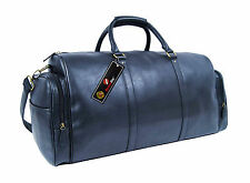 Large Travel Holdall Duffle Bag in Faux Pu Leather Holdalls Bags Roamlite RL751M
