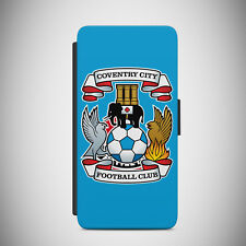 New Coventry City FC FLIP Case For iPhone 4-7 & Samsung S5-S8 Plus