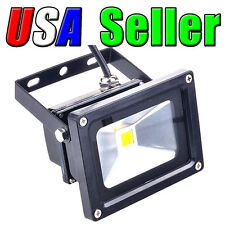 12V Low Voltage 10W Cool Pure White LED Wall Wash Flood Landscape Garden Light