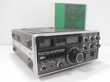Kenwood TS-700A 2 Meter Ham Radio Transceiver w/ Manual for Parts or Restoration