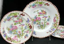 Minton CUCKOO Salad Plate + 2 Bread & Butter Vintage 3934 VERY GOOD CONDITION