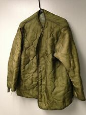 USGI M-65 Field Jacket Liner Coat Insert OD Green Army USMC Surplus Cold Weather