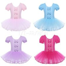 Kids Ballet Leotard Tutu Skirt Girls Princess Dress Up Dance Wear Fancy Costumes