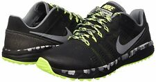 Nike DUAL FUSION TRAIL 2 Mens Black/Cool Grey-Volt-Wolf Gray 819146-001 Shoes