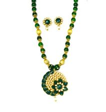 Fashion Statement Necklace and Earring Set