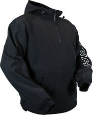 HMK Mens Hooded Tech Wind Resistant Water Resistant Pullover Jacket
