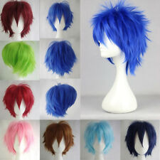Men Anime Fashion Short Wig Cosplay Party Straight Hair Cosplay Full Wigs H676