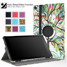 Moko For Amazon Fire Tablet 360° Rotating Slim Stand Cover Case Auto Wake/Sleep