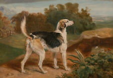 """James Ward : """"Ravager, One of the Lambton Hounds"""" (1835) — Giclee Fine Art Print"""