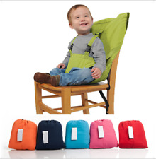 Baby Portable Child Multifunctional Portable High Chair Seat Cover Safety Belt