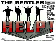 Help!' The Beatles United Artists Vintage Movie Poster Reproduction