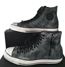Converse by John Varvatos Chuck Taylor Multi Lace GREY Leather Sneaker 150166C