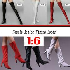 12'' Action Figure Shoes 1/6 Thigh High Boots Mid Calf Boots for Phicen Cy Girls