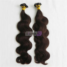Body Wave Hair New  Keratin Human Fusion Hair Flat Tip Human Hair Extension 100g