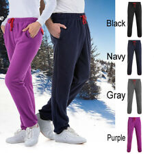 Mens Womens Jog Gym Pants Running Sweat Trousers Fitness Sport Bottoms Polyester