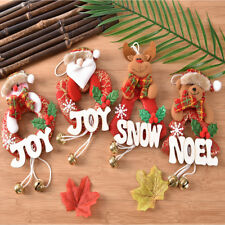 Xmas Gifts Christmas Tree Hanging Ornaments Santa Claus Pendants Decorations JR