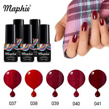 Maphie  Nude Color UV Gel Nail Polish Set Soak Off Gel For Nail Art DIY 6ml