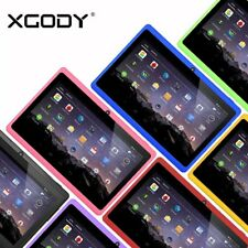 7'' Tablet PC Android 4.4 Quad Core 8GB Bluetooth HD Touch Screen Multi-Color US