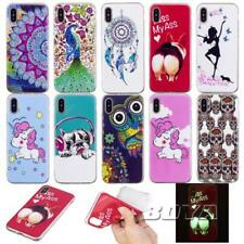 For ipod touch iphone luminous soft TPU phone case protective skin Rubber Gel