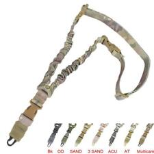 Tactical single Point Rifle Sling ShotGun Strap Adjustable Hunting, Airsoft, Fir