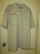 BSA/Cub, Boy & Leader Scout Newest Vented Back Uniform Sht.Slv. Shirt-Adult -16