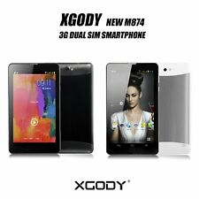 7'' HD Touchscreen Android Tablet PC 3G/2G Dual SIM Phablet 8GB WCDMA+GSM XGODY