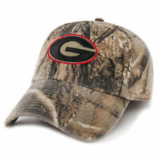'47 Brand Georgia Bulldogs Camo Realtree Franchise Fitted Hat - College