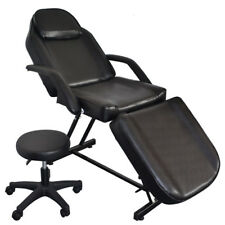 Beauty Massage Bed Barber Chair Salon Equipment With Stool Facial Tattoo Chair